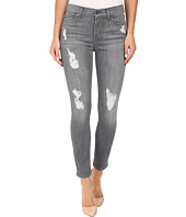 7 For All Mankind - The Ankle Skinny w/ Destroy in London Grey Skies