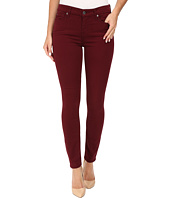 7 For All Mankind - The Ankle Skinny in Cranberry