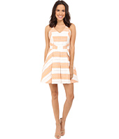 Adelyn Rae - Woven Striped Fit and Flare Dress