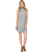 Splendid - Loralie Stripe Mock Neck Dress