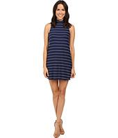 Splendid - Loralie Stripe Mock Neck Dress