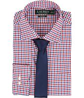 LAUREN Ralph Lauren - Classic Warren Collar with Pocket Dress Shirt