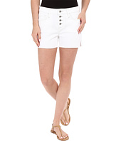 Mavi Jeans - Emily Mid-Rise Relaxed Shorts in Summer White Boho
