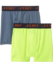 Jockey Kids - New 2-Pack Performance Boxer Brief (Little Kids/Big Kids)