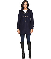 Vince Camuto - Hooded Toggle Closure Wool Coat L8311