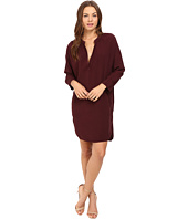 Michael Stars - Modern Rayon 3/4 Sleeve Split-Neck Dress
