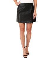 Blank NYC - Vegan Leather Mini Skirt in Break The Ice