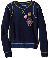 True Religion Kids - Paneled Pullover Sweatshirt (Toddler/Little Kids)