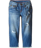"True Religion Kids - Audrey Destructed ""Boyfriend"" Jeans in Breeze Blue (Toddler/Little Kids)"