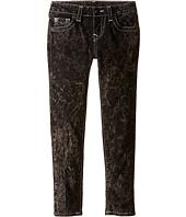 True Religion Kids - Casey Light Gray Single End Jeans in Blackout/Mineral Wash (Toddler/Little Kids)