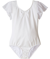 Bloch Kids - Flutter Sleeve Leotard with Sequin Dot (Toddler/Little Kids/Big Kids)