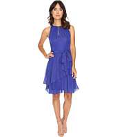 Tahari by ASL - Keyhole Halter Neck w/ Tiered Skirt