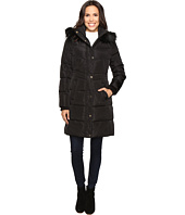 Jessica Simpson - Long Puffer w/ Waist Detail Hood and Faux Fur