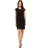 HEATHER - Silk Layered Asymmetrical Dress