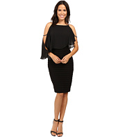 Adrianna Papell - Lined Matte Jersey Banded Sheath Dress