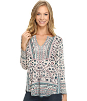 Lucky Brand - Block Floral Top