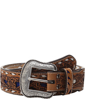 M&F Western - Embossed with Lacing Belt