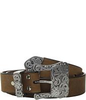 M&F Western - Three-Piece Silver Buckle Belt