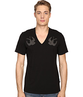Just Cavalli - Slim Fit Swallow Jersey T-Shirt