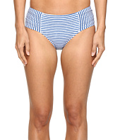 Seafolly - Riviera Stripe Ruched Side Retro Bottoms
