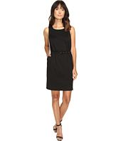 Christin Michaels - Marianna Sleeveless Ponte Dress with Belt