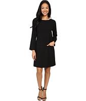 Lilla P - Crepe Pocket Front Dress