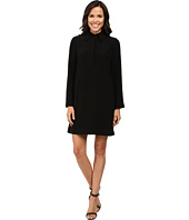 Tahari by ASL - Trumpet Sleeve Collared Shift Dress