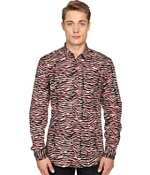 Just Cavalli - Slim Fit Swallow Print Shirt