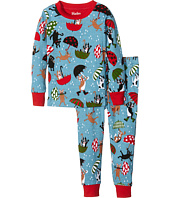 Hatley Kids - Raining Dogs Pajama Set (Toddler/Little Kids/Big Kids)