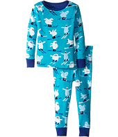 Hatley Kids - Ski Monsters Pajama Set (Toddler/Little Kids/Big Kids)