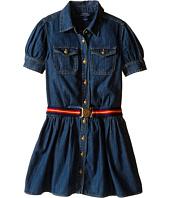 Polo Ralph Lauren Kids - Denim Shirtdress (Big Kids)