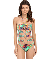 Red Carter - Front Cut Out One-Piece Cali Cut