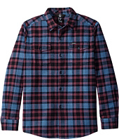Volcom Kids - Martens Flannel Long Sleeve Shirt (Big Kids)
