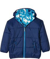 Hatley Kids - Silhouette Dinos Reversible Winter Puffer (Toddler/Little Kids/Big Kids)