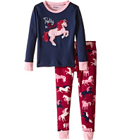 Hatley Kids - Pretty in Pink Pajama Set (Toddler/Little Kids/Big Kids)