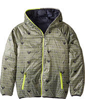 Armani Junior - Reversible Lunar Puffer Coat (Toddler/Little Kids/Big Kids)