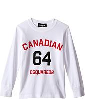 Dsquared2 Kids - Long Sleeve Canadian Tee (Little Kids/Big Kids)