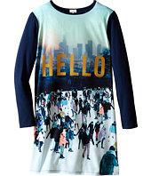 Paul Smith Junior - Printed Hello Tee Shirtdress (Big Kids)