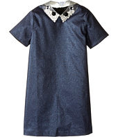 Little Marc Jacobs - Glittered Dress Fancy Cabochons Removable Collar (Little Kids/Big Kids)