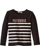 Junior Gaultier - Long Sleeves Tee Shirt Parisienne (Toddler/Little Kids)