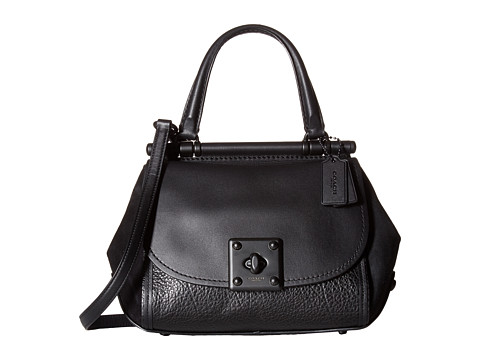 Coach Mixed Leather Drifter Top Handle At 6pm
