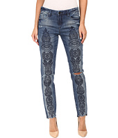 Blank NYC - Denim Embroidered Skinny in Tiffany Blew