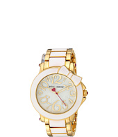 Betsey Johnson - BJ00459-10 - Bow White Enamel
