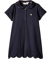 Armani Junior - Short Sleeve Dress with Scallop Hem (Infant)