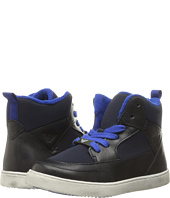 Armani Junior - High Top Sneaker (Toddler/Little Kid/Big Kid)