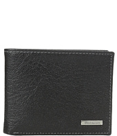 Steve Madden - Buff Crunch Leather Passcase Wallet