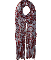 BCBGeneration - Mixed Fringe Long and Skinny Scarf
