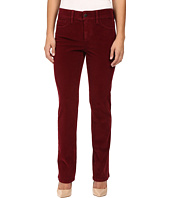 NYDJ Petite - Petite Marilyn Straight Jeans in Corduroy in Antique Ruby