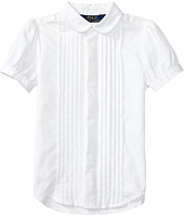 Polo Ralph Lauren Kids - Broadcloth Pleated Shirt (Toddler)