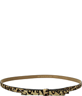 "Kate Spade New York - 5/8"" Haircalf Bow Belt"